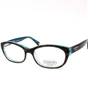 27bffd73aeda Coach Accessories | New Rx Eyeglasses Kristin Teal Tortoise | Poshmark